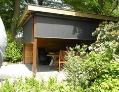 Sauna, Jacuzzi, Backyard Landscaping, Backyard Ideas, Pergola, Garage Doors, Shed, Home And Garden, Lounge