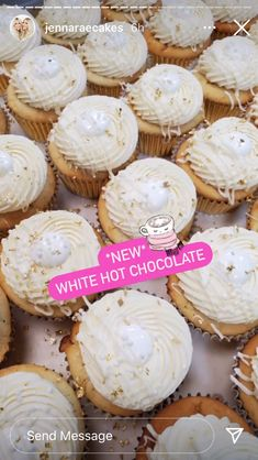 Hot Chocolate Cupcakes, Sweets, Desserts, Food, Tailgate Desserts, Deserts, Gummi Candy, Candy, Essen