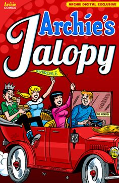 ON SALE TODAY, Friday April 18, 2014. Archie's Jalopy - available on http://digital.archiecomics.com/