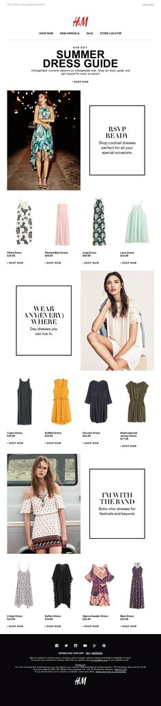 Dress Feature | Summer Dress Guide | RSVP Ready #email