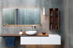 Minosa Design: Main Bathroom meets Powder Room with stunning result