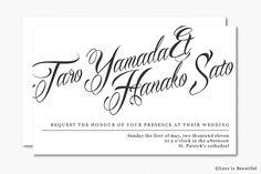 結婚式につかえるフォントまとめ(Mardian) Wedding Fonts, Invitations, Beautiful, Free, Save The Date Invitations, Shower Invitation, Invitation