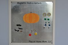 Already bought supplies to do this, can't wait!    Play At Home Mom LLC: DIY Magnetic Jack-O-Lantern
