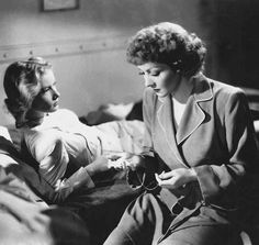 Veronica Lake & Claudette Colbert in So Proudly We Hail!, 1943