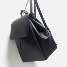 BACKPACK WITH FOLDOVER FLAP-Backpacks-Bags-WOMAN   ZARA United States