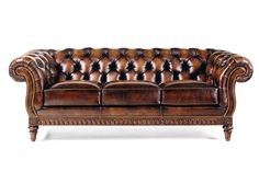 "Hancock and Moore 1744 Chancellor Sofa  Height 33"", Width 89"", Depth 42.5""  Inside: Width 63"", Depth 23"" Seat Height 21.5"", Arm Height 32""  COM Requirement: 22.5 yds COL Requirement: 405 sq ft"