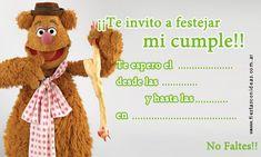Tarjeta de cumpleaños de fozzie-muppets