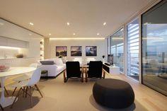 Beautiful beachside apartment.  Beach Boiserie by JM Architecture