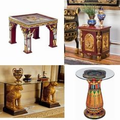 Top tips for Egyptian style furniture in the interior design and homes
