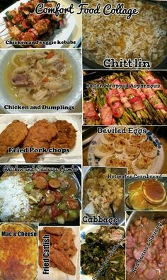 Soul food recipes httpamazonmint media soul food soul food collage just a few dishes by sinpli me scheneta tipton harris forumfinder Image collections