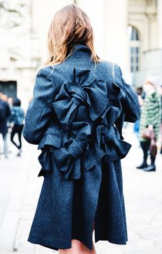 If this gorgeous coat doesn't command attention, we don't know what will. // #Fashion