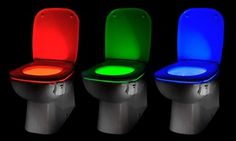 Groupon - One or Two Auraglow LED Motion Activated Toilet Night Lights from £8.99 (Up to 57% Off). Groupon deal price: £8.99
