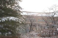 [Winter] Seoul Children's Grand Park Subway line no.7, Children`s Grand Park station, exit 1