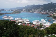St. Thomas Island, Virgin Islands. Been here. Would love to go again.