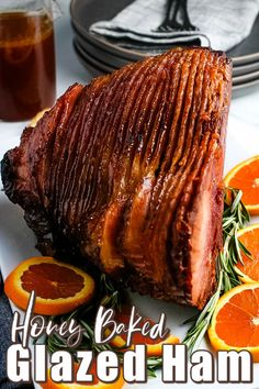Let me show you how easy it is to cook Honey Baked Ham - a spiral glazed ham recipe with a sweet honey topping. It's perfect for the holiday season.
