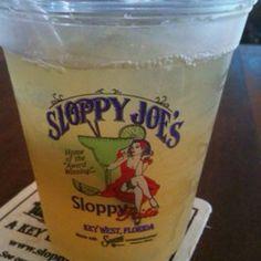 Sloppy Joe's Key West Florida have a sloppy Rita there!