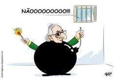 Loas à prisão de Cunha