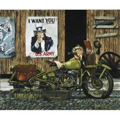 Harley-Davidson motorcycle artist Scott Jacobs: