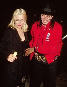Michael out with Madonna. '91