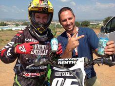 Nuestro piloto del MX Racing Vichy Catalán, Biel Ferrer, toma impulso con VCH Plus Menta
