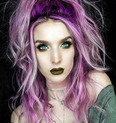 Pony Hair Color (Electric Violet-Purple) rocking PONY, the electric violet Funky Hair Colors, Vivid Hair Color, Hair Color Purple, Cool Hair Color, Rainbow Hair Colors, Best Purple Hair Dye, Purple And Green Hair, Exotic Hair Color, Hidden Hair Color