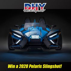 Come to to be entered to win! One Lucky winner will win the all-new 2020 and their choice of one of three accessory series. See store for complete details and rules. Polaris Slingshot, Used Motorcycles, Store, Car, Automobile, Storage, Cars, Shop
