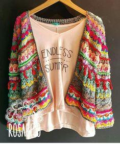 Crochet Coat, Crochet Jacket, Crochet Cardigan, Crochet Scarves, Crochet Shawl, Crochet Clothes, Crochet Stitches, Crochet Patterns, Freeform Crochet