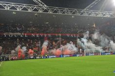 Sampdoria 0-3 Genoa: The choreography of the curves before the Genoa derby