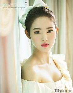 Korean bridal makeup