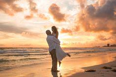 Beach Sunset Wedding Photographer - https://www.ljenningsphotography.com/beach-sunset-wedding-photographer/  family photographer, family photography, family photo ideas, sunset photos on the beach, sunset photos beach, sunset photos family, sunset photos couples, sunset pictures, sunset photography