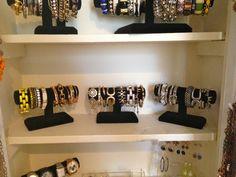 Jewelry Closet #jewlery #selectionsbysisters