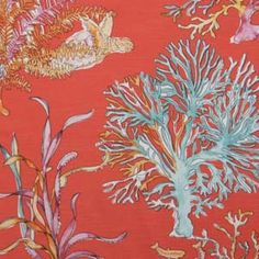 Hertex Fabrics is s fabric supplier of fabrics for upholstery and interior design Hertex Fabrics, Fabric Suppliers, Fabric Design, Flora, Interiors, Sea, Interior Design, Pink, Painting