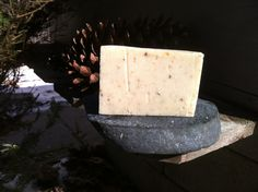 Natural Lavender Oatmeal with Goat Milk Soap, Exfoliating, Palm Free, Lavender Essential Oil by FlourishSoaps on Etsy