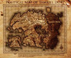 125 Best Tes Maps And Symbols Images Tes Symbols Elder Scrolls