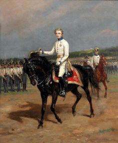 HIH THE PRINCE NAPOLEON FRANÇOIS CHARLES JOSEPH BONAPARTE AND HABSBURG KING OF ROME PRINCE OF PARMA AND DUKE OF REICHSTADT