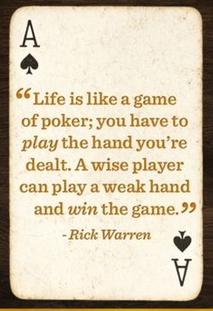 """Life is like a game of poker. """"There is no sympathy in poker. If you lose your head you will lose all your chips"""" - William J. Poker Quotes, Me Quotes, Funny Quotes, Daily Quotes, Qoutes, Parks And Recreation, Tattoo Casino, Las Vegas, Top Imagem"""