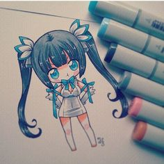Marvelous Learn To Draw Manga Ideas. Exquisite Learn To Draw Manga Ideas. Kawaii Chibi, Cute Chibi, Kawaii Art, Kawaii Anime, Manga Anime, Fanarts Anime, Anime Chibi, Anime Art, Copic Drawings