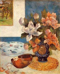 Still Life with Mandolin, Paul Gauguin