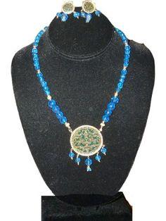 Traditional Jewelry Blue Beaded Gold Plated Ethnic Thewa Necklace Earring Set Mogul Interior,http://www.amazon.com/dp/B008416QFU/ref=cm_sw_r_pi_dp_.rtmsb1Z0MPZ2CHN