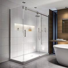 Acryline Shower Door AXIS Corner