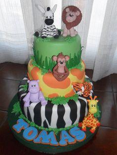 Torta animalitos - Imagui