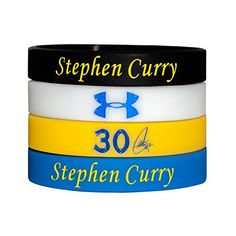 Silicone Wristband Bracelet NBA, Stephen Curry, more NBA…