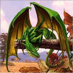 Sorrel's Dragons: another small dragon, today, but nothing like as cute as yesterday's.