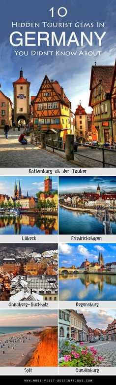 10 Hidden Tourist Gems In Germany You Didn't Know About #Germany #travel