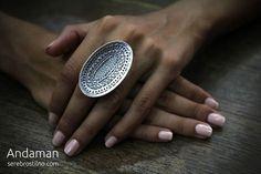 Серебряные украшения в стиле бохо: детали