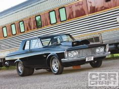 1963 Plymouth Savoy - Max Wedge-Powered Pro Street #Mopar