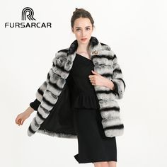 >> Click to Buy << New Women's Real Rex Rabbit Fur Coat Natural Fur Winter Jacket Women Outerwear with Genuine Fur Real Fur Coat BF-C0466 #Affiliate