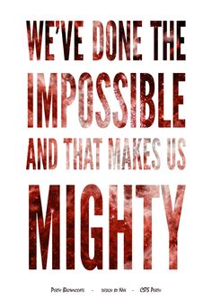 Firefly/Serenity Quote Poster Design: Done The Impossible (Mal) Design by Nyx Firefly Serenity Quotes, Firefly Tv Series, Smart Quotes, Nerd Quotes, Qoutes, Freak Flag, Strong Love, Joss Whedon, Geek Out