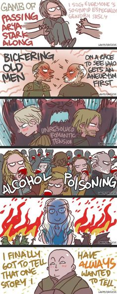 Game of Thrones in a Nutshell (so far)