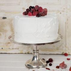 Red Velvet cake, fire and ice.